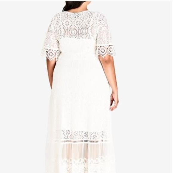 069c143b3b23 City Chic Dresses | Summer Lace Maxi Dress | Poshmark